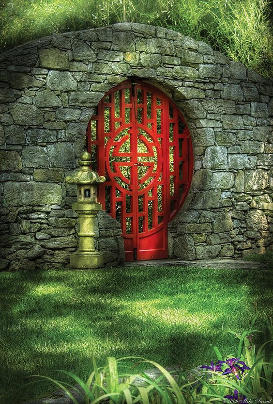 via http://fineartamerica.com/featured/orient--door--the-moon-gate-mike-savad.html