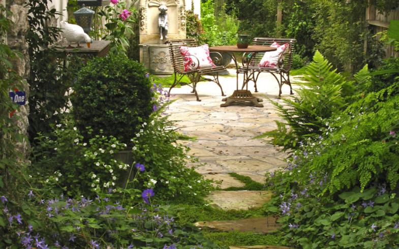 Na návštěvě v jedné britské venkovské zahradě
