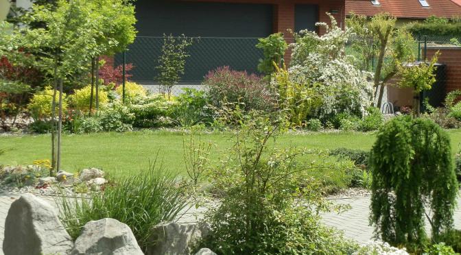 Toulky zahradou v polovině května…