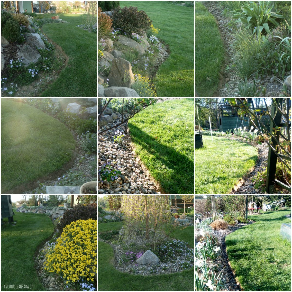 Jak oddělit trávník od záhonů? Jde to i bez obrubníků!